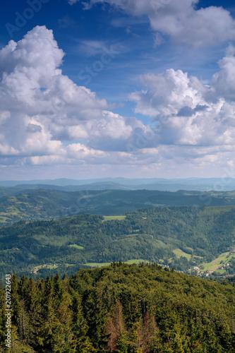 Fotografia  Górki krajobraz