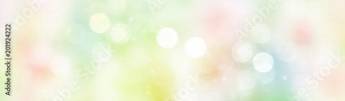 Fotografiet  Colorful background blur