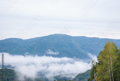 Fotobehang Wit Beautiful landscape
