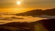 Time lapse of sunset over the Mawddach Estuary, Wales