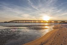 Biloxi Sunset Bridge