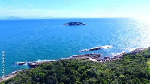 Buzios - RJ - Praia de João Fernandes e Fernandinho Tableau sur Toile