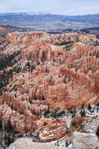 Poster Canyon Elevated View Over Bryce Canyon National Park, USA