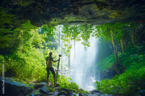 Poster Australië Crystal Falls - Dorrigo National Park, Australie