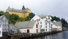 Scenic View Of Old Houses In N...