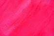Leinwanddruck Bild - Unfinished Pink Painting on Concrete Background.