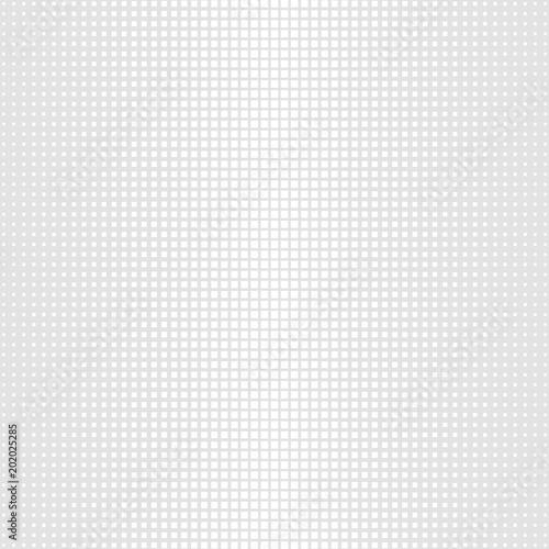 Halftone graye square pattern background Canvas Print