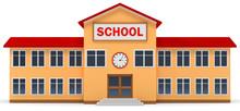 3d Lowpoly Schule