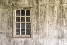 Old Weathered White Window