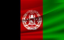 Afganistan Waving Flag Vector ...