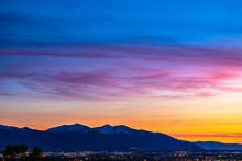 Beautiful Sunset In Salt Lake ...