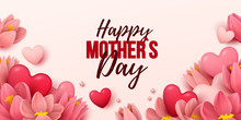 Happy Mothers Day Background W...
