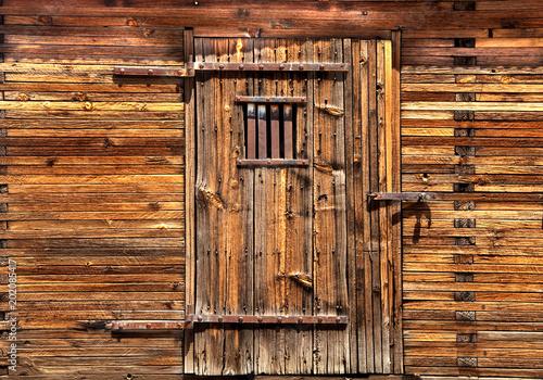 Fotografia, Obraz  Wooden Jail door