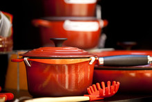Red Iron Pot