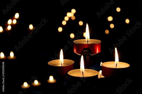 In de dag Vuur / Vlam Fiamma di candele - relax e preghiera