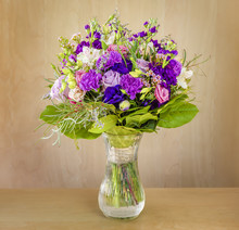 Bouquet Of Flowers, Multi-colo...