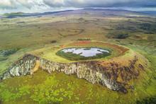 Rano Raraku Volcano, The Moais...