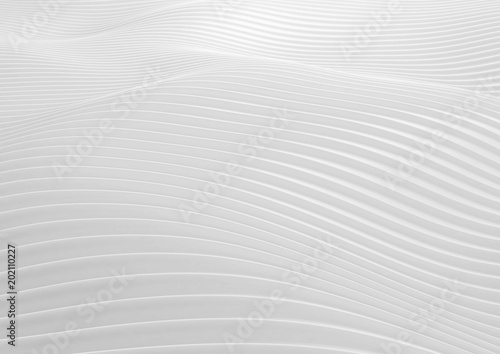 Foto op Aluminium Abstract wave Abstract white wave background.