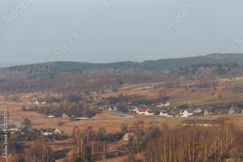 Foto op Canvas Bleke violet Landscape