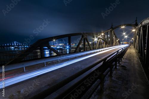 Fototapeta Drehbrücke Uerdingen obraz