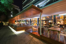 Restaurant Terrace In The Summ...