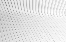 White Texture Line Surface. Gray Abstract Pattern. Strips Geometric Modern. Interior Wall 3d Background Design