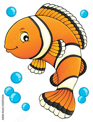 Canvas Print Clownfish topic image 1