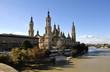 Basílica de Pilar en Zaragoza