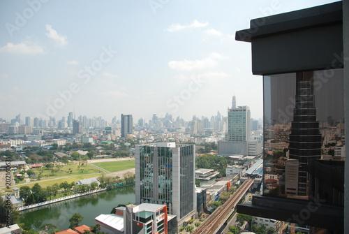 Photo  Panorama of Bangkok, capital city of Thailand
