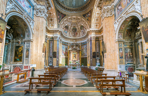 Fotografie, Obraz  Church of Santa Maria ai Monti, in Rome, Italy.