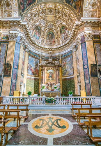 Fotografie, Obraz  Main altar in the Church of Santa Maria ai Monti, in Rome, Italy.
