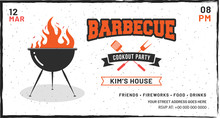 Barbecue Poster, Flyer, Templa...