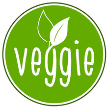 Veggie Vegan Vegetarisch Icon