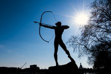 The Statue Of Archer