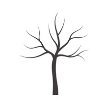 Vector Bare Tree.