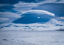 Mt. Erebus Volcano In Antarctica