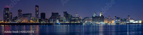 Fototapeta Liverpool Skyline obraz