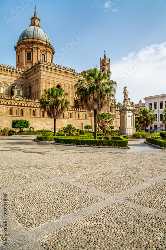 Cadres-photo bureau Palerme Beautiful sunny Palermo, Sicily, Italy