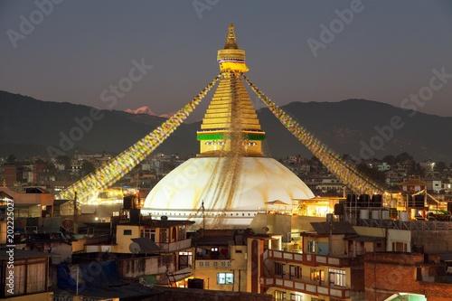 Staande foto Nepal Boudha or Bodhnath stupa - Kathmandu - Nepal