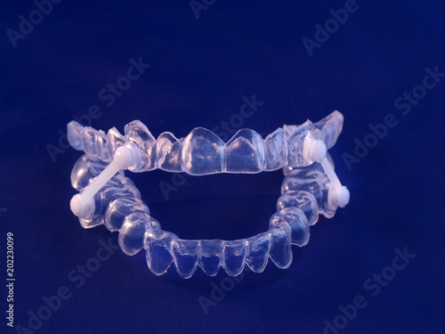 Appliance for management of jaws during obstructive sleep apnea Canvas Print