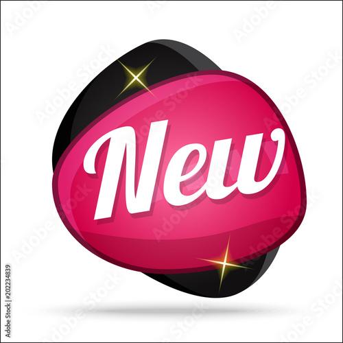 Fotografía  New Colorful Offer Glossy Shiny Vector Icon Button Design