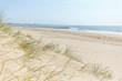 Sandbanks Beach in Poole, Dorset on a bright sunny summer's day