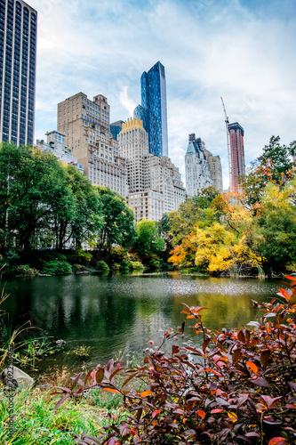 Canvastavla New York Skyline from Central Park