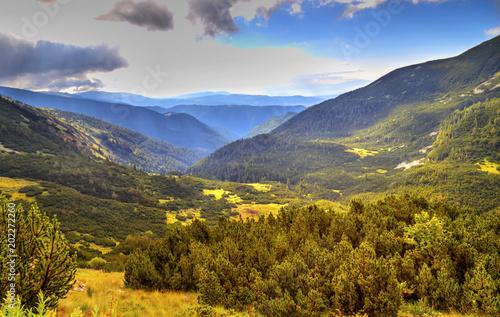 Fotobehang Honing Beautiful mountain landscape