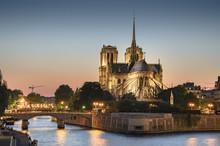 Notre Dame De Paris, France At...