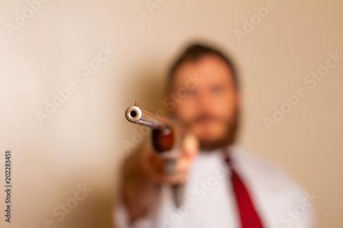 Fényképezés  tip of a gun