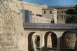 Historic city wall of Valletta, Malta