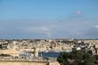 Valletta old city wall and Vittoriosa Il-Birgu in Malta