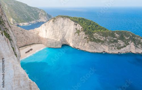 Fotomural shipwreck in Zakynthos Greece