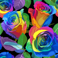 Seamless Pattern - Multicolore...